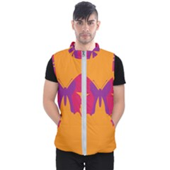 Butterfly Wings Insect Nature Men s Puffer Vest