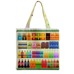 Supermarket Shelf Products Snacks Grocery Tote Bag
