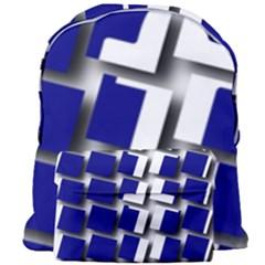 Facebook Social Media Network Blue Giant Full Print Backpack