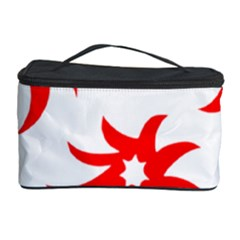 Star Figure Form Pattern Structure Cosmetic Storage Case