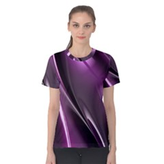 Fractal Mathematics Abstract Women s Cotton Tee