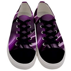 Fractal Mathematics Abstract Men s Low Top Canvas Sneakers