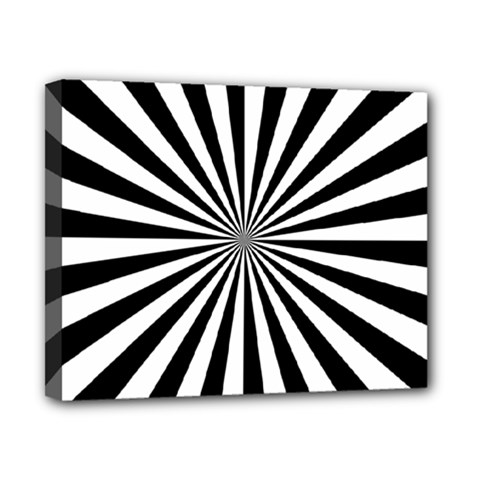Rays Stripes Ray Laser Background Canvas 10  X 8