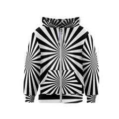 Rays Stripes Ray Laser Background Kids  Zipper Hoodie