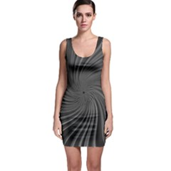 Abstract Art Color Design Lines Bodycon Dress