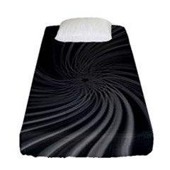 Abstract Art Color Design Lines Fitted Sheet (single Size)