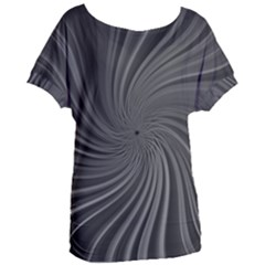 Abstract Art Color Design Lines Women s Oversized Tee