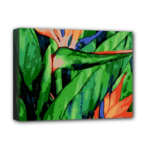 Flowers Art Beautiful Deluxe Canvas 16  X 12