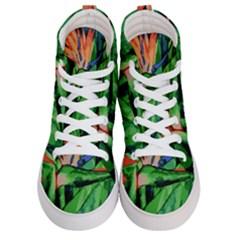 Flowers Art Beautiful Men s Hi Top Skate Sneakers