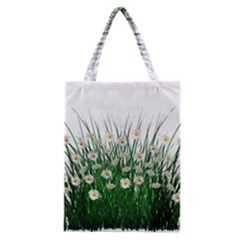 Spring Flowers Grass Meadow Plant Classic Tote Bag
