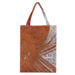 Abstract Lines Background Mess Classic Tote Bag