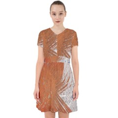 Abstract Lines Background Mess Adorable In Chiffon Dress