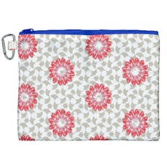 Stamping Pattern Fashion Background Canvas Cosmetic Bag (xxl)