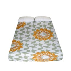 Stamping Pattern Fashion Background Fitted Sheet (full/ Double Size)