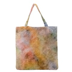 Texture Pattern Background Marbled Grocery Tote Bag