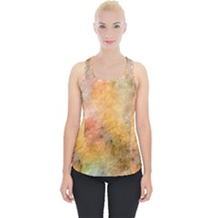 Texture Pattern Background Marbled Piece Up Tank Top