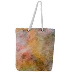 Texture Pattern Background Marbled Full Print Rope Handle Tote (large)