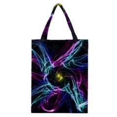 Abstract Art Color Design Lines Classic Tote Bag