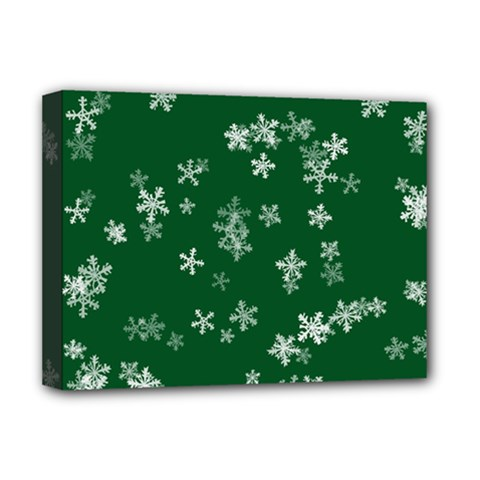 Template Winter Christmas Xmas Deluxe Canvas 16  X 12