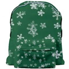 Template Winter Christmas Xmas Giant Full Print Backpack