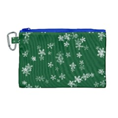 Template Winter Christmas Xmas Canvas Cosmetic Bag (large)