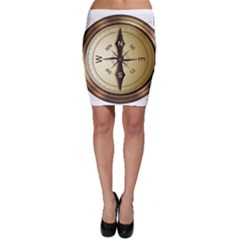 Compass North South East Wes Bodycon Skirt