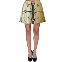 Compass North South East Wes Skater Skirt