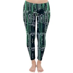 Printed Circuit Board Circuits Classic Winter Leggings