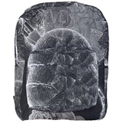 Space Universe Earth Rocket Full Print Backpack