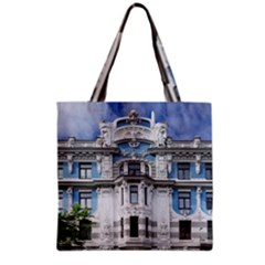Squad Latvia Architecture Grocery Tote Bag