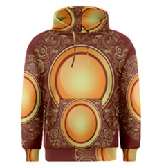 Badge Gilding Sun Red Oriental Men s Pullover Hoodie