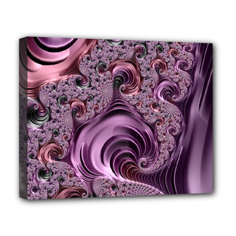 Abstract Art Fractal Deluxe Canvas 20  X 16
