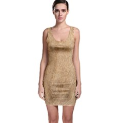 Rock Tile Marble Structure Bodycon Dress