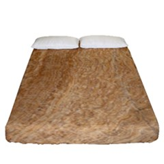 Rock Tile Marble Structure Fitted Sheet (queen Size)