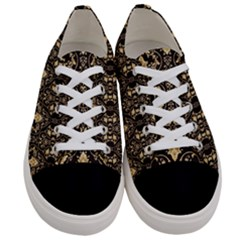 Wallpaper Wall Art Architecture Women s Low Top Canvas Sneakers