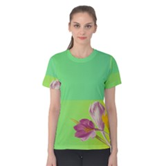 Background Homepage Blossom Bloom Women s Cotton Tee