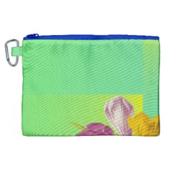 Background Homepage Blossom Bloom Canvas Cosmetic Bag (xl)