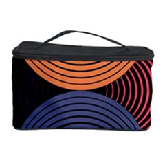 Geometric Swirls Cosmetic Storage Case