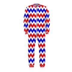 Zig Zag Pattern Onepiece Jumpsuit (kids)