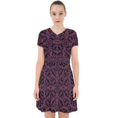 Modern Ornate Pattern Adorable In Chiffon Dress
