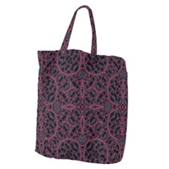 Modern Ornate Pattern Giant Grocery Zipper Tote