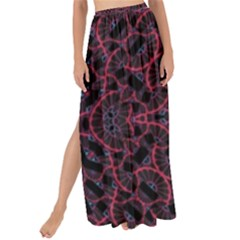 Modern Ornate Pattern Maxi Chiffon Tie Up Sarong