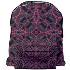 Modern Ornate Pattern Giant Full Print Backpack