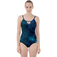 System Network Connection Connected Cut Out Top Tankini Set