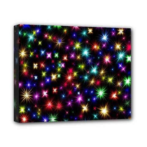 Fireworks Rocket New Year S Day Canvas 10  X 8