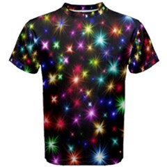 Fireworks Rocket New Year S Day Men s Cotton Tee