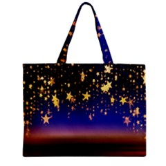 Christmas Background Star Curtain Mini Tote Bag