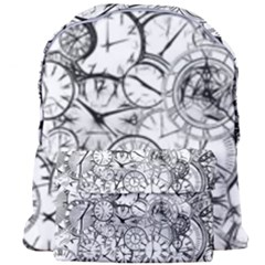 Time Clock Watches Time Of Giant Full Print Backpack