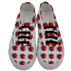 Cross Heart Anchor Love Hope Men s Classic Low Top Sneakers