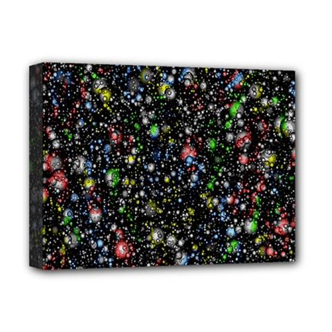 Universe Star Planet All Colorful Deluxe Canvas 16  X 12